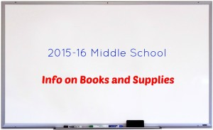 MS Book List 2015-16