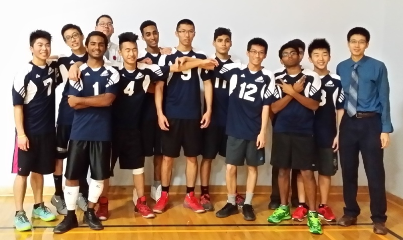 Senior School Boys Volleyball 2014