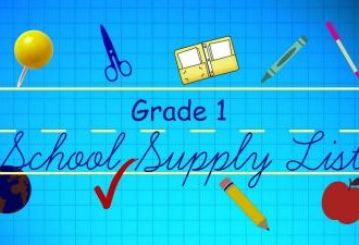 G1 School Supply List