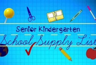 SK School Supply List