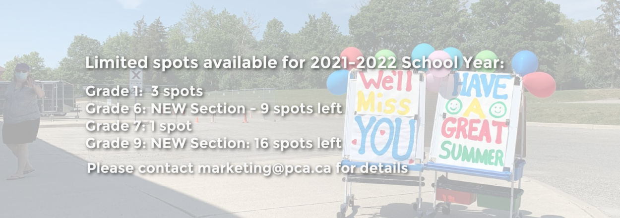 Limited Spots available banner
